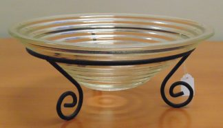 Center Table, Glass Bowl