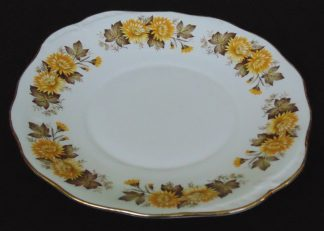 Queen Ann, Bone China, England, Lyric, Platter