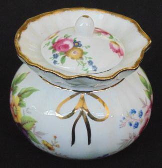 Fenton China, Staffordshire, England, Lidded, Canister