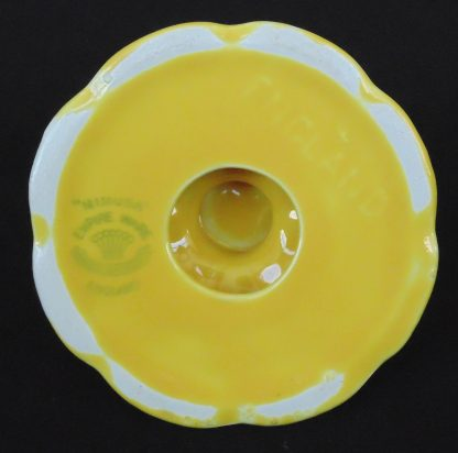 Empire Ware, Mimusa, Yellow, Candle Holder