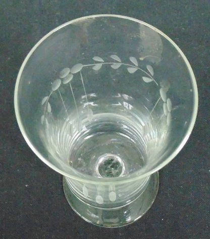 Delicate Parfait Frosted Glass, Vintage