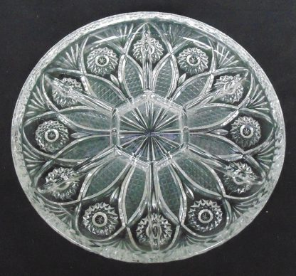 7 Section, Glass, Savory Tray