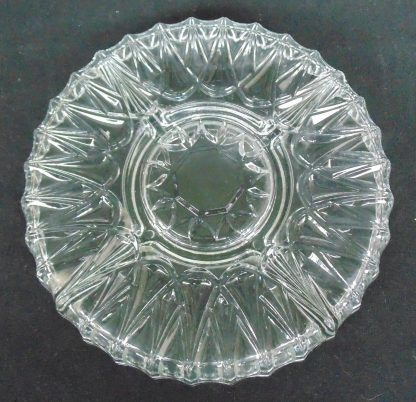 5 Section, Glass, Savory Tray