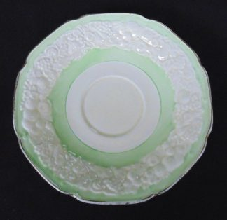 Crown Ducal, Florentine, England, Saucer