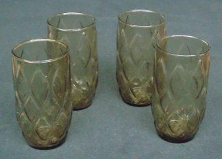 4 Retro, Drinking Glasses