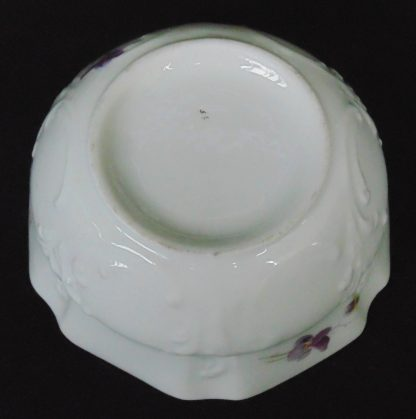 Bowl with Purple Flowers