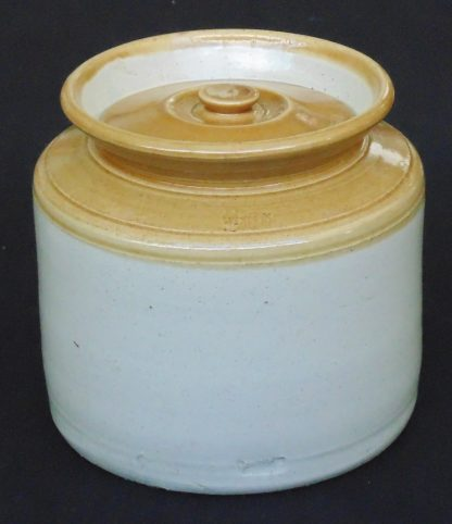 40, Lidded Stone Wear Pot, Demijohn