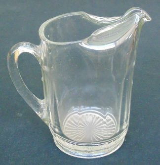 Vintage, Cast Glass, Jug