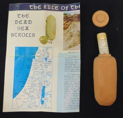 The Dead Sea Scrolls, The Rules of Congregation, Souvenir