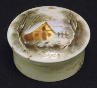 Vintage Porcelain, Powder Container