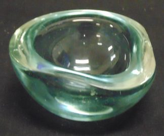 Heavy Turquoise, Pear Shaped Bowl