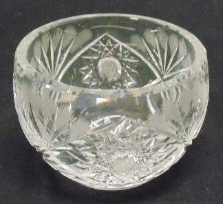 Cut Crystal Bowl - Small cips on Rim