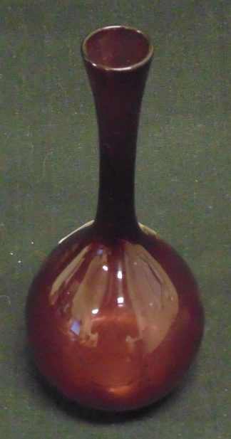 Burgundy, Glass, Vase