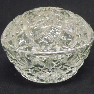 Lidded, Glass, Dressing Table, Canister