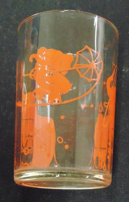 6 X 1960s, Child Drinking Glasses
