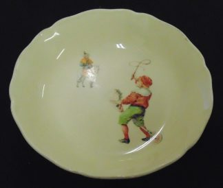 Royal Doulton, D5187, England, Boy on horse bowl
