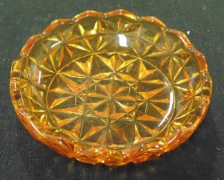 Amber, Glass, Pin Dish