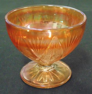 Large Carnival Glass, Goblet, Lolly Bowl