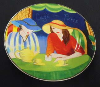 Café Paris, Wall Plate