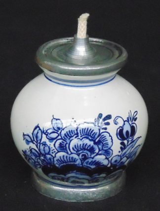 Blue and White, Porcelain Oil Burner