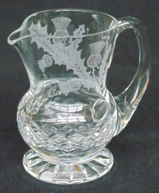 Scottish Thistle, Jug, Made in Scotland