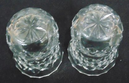 2 small Thistle Shaped Vases