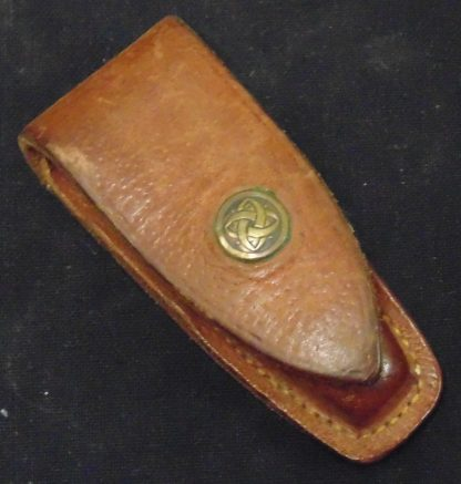 Leather, Pocket Knife, Pouch