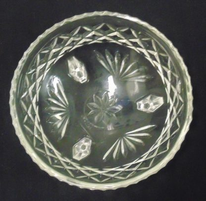 3 Legged, Cast Glass Bowl