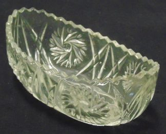 Cast Glass, Bowl, Swirl