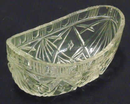 Cast Glass, Bowl, Star