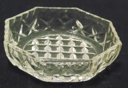 8 Sided Glass Bowl