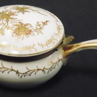 Lidded Ornate, China Container