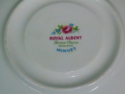 Royal Albert, Minuet, Saucer