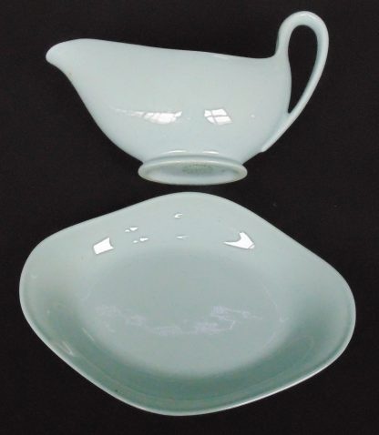 Wedgwood, Lavender, Gravy Boat and Saucer