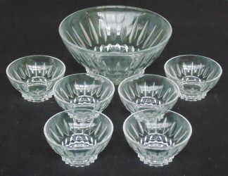 Desert Serving Bowl with 6 Bowls
