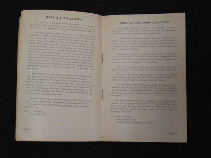What is a, An ABC Hospital Session, Pre 1966 Booklet