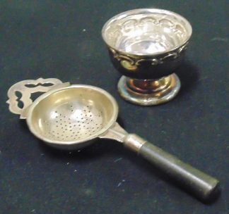 Vintage Retro EPNS Tea Strainer