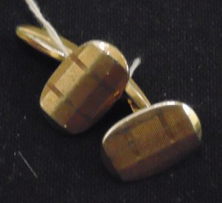Pair of Cufflinks Gold Grove