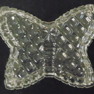Crystal Butterfly Dressing Table Pin Dish