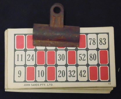 Quantity of Bingo Cards with Recopies on the back