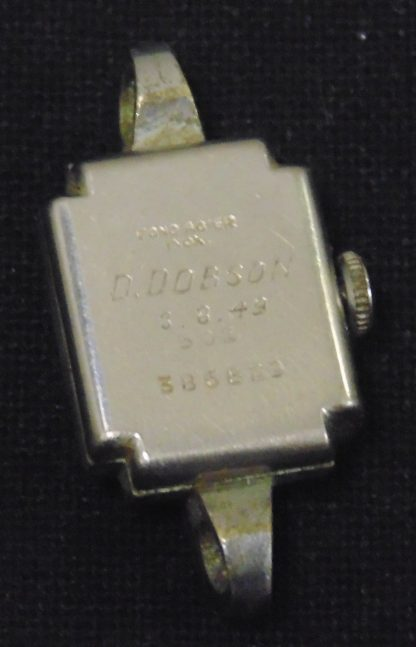 Vintage Dobson, 8.8.49, Fond Acier Ladies Watch