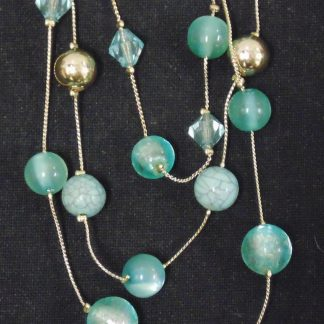 3 Strand Beaded Necklace