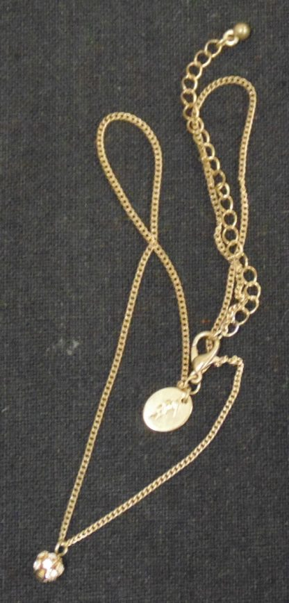 Chain with Small Pendant