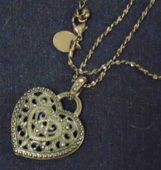 Chain with Heart shaped Pendant