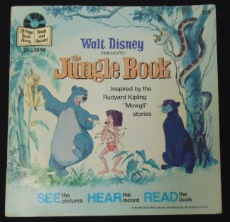 Walt Disney The Jungle Book and 45rpm Retro