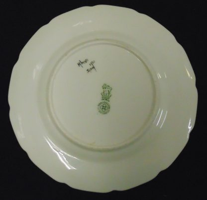 5 Hand painted Royal Doulton Bread Plates 1930
