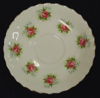 Forget me not rose Royal Albert Saucer