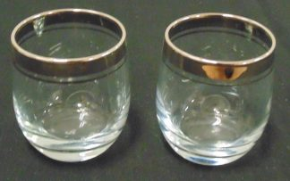 2 Turkiye Glass Goblets