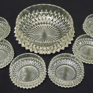 Large Bowl with 6 Serving Bowls