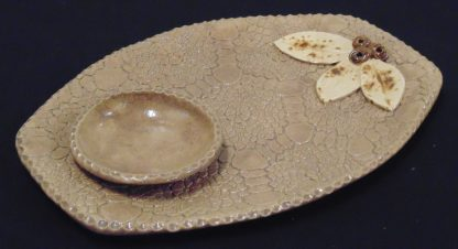 Terracotta Chip and Dip Platter